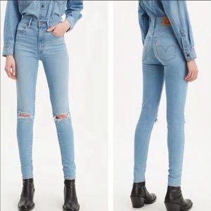 Levis Mile High Super Skinny High Waist Jeans